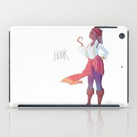 captain hook iPad Cases featuring Captain Hook by Galaxyspeaking