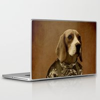 beagle Laptop & iPad Skins featuring Beagle by Durro