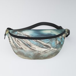 Winter Skies Fanny Pack