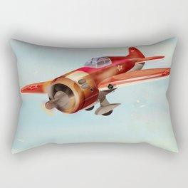 Old Soviet plane Rectangular Pillow