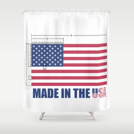 Made In The USA US Flag