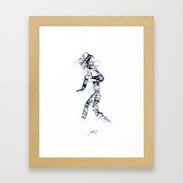 w/s | w Framed Art Print