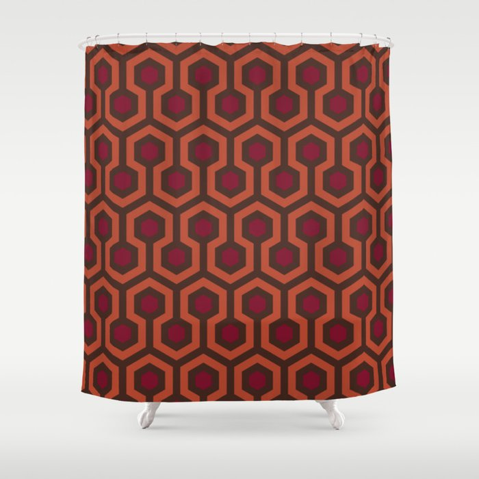 The Shining Area Rug Shower Curtain By Vintagestripes Society6