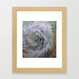 Cellular Explosion EYE OF THE STORM Framed Art Print