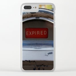Expired Clear iPhone Case