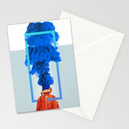 "Fluid ""M"" Turn. Stationery Cards"