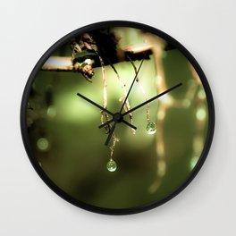 Spring Mist Wall Clock