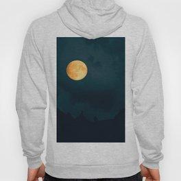 Full Moon Shines Overnight #decor #society6 #buyart #homedecor Hoody