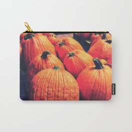 Pumpkins on a Pallet Carry-All Pouch