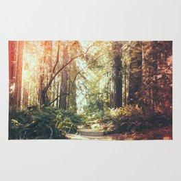 Beautiful California Redwoods Rug