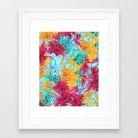 splash Framed Art Prints featuring Splash! by Eleaxart