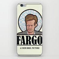 fargo iPhone & iPod Skins featuring FARGO - A Coen Bros. Picture by Damn Fine Design