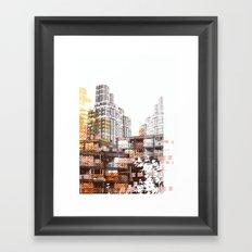 City scape I Framed Art Print
