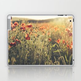 Wildflower Poppy Fields. Laptop & iPad Skin