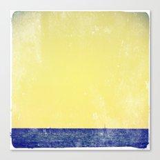 summer sail (yellow) Canvas Print