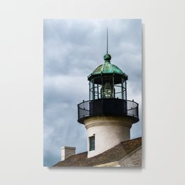 The Tower at Cabrillo Lighthouse Metal Print