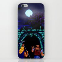 castlevania iPhone & iPod Skins featuring Dark Castle by VGPrints