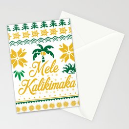Mele Kalikimaka Ugly Christmas Sweater Stationery Cards