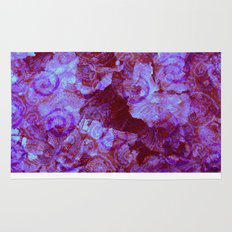 Hydrangea Paisley Abstract Rug