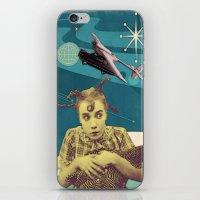 chicken iPhone & iPod Skins featuring Chicken by Julia Lillard Art