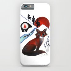 Fox on the Mountain Slim Case iPhone 6s