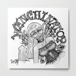 Wenchinator Metal Print