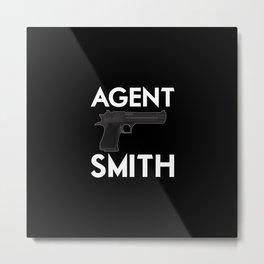 Agent Smith / Desert Eagle Metal Print