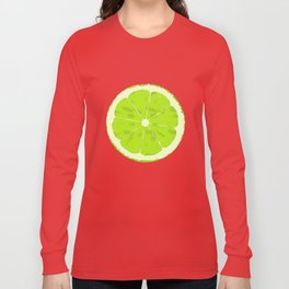 Lime Long Sleeve T-shirt