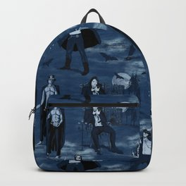 Suave scary sexy Halloween Scoundrels Backpack