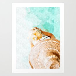 Relaxed Way Art Print