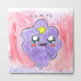 LUMPS Metal Print