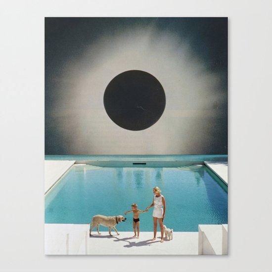 MIDNIGHT POOL Canvas Print
