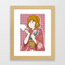 Hanayo Koizumi - Smile Framed Art Print