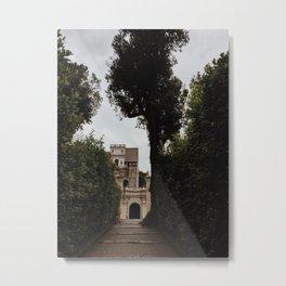 Castle in the hills Metal Print