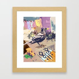 Ilmarinkatu Framed Art Print
