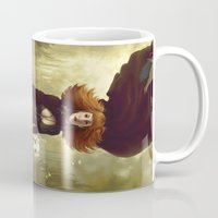 dogs Mugs featuring Dogs by Kelly Perry