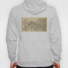 Vintage Map of The Colorado River (1858) Hoody