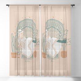Texas Bohemia Sheer Curtain