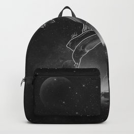 beautifully unfinished b&w. Backpack
