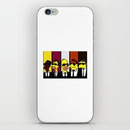 Reservoir Simpsons iPhone Skin