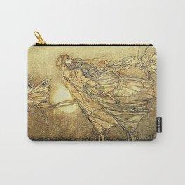 """Fairies in Kensington Gardens"" by Arthur Rackham Carry-All Pouch"