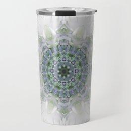Light Birch Mandala Travel Mug