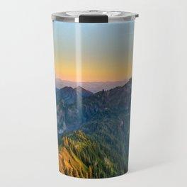 Sunset Mt. Alta Washington, United States Travel Mug