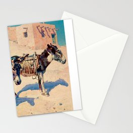 """]Western Art Vintage """"Patience"""" Stationery Cards"""