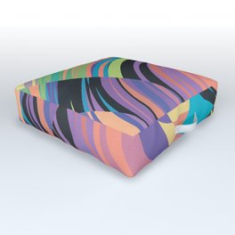 Magnetic Storm Outdoor Floor Cushion