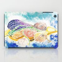 vegetables iPad Cases featuring Vegetables by Elena_Voro