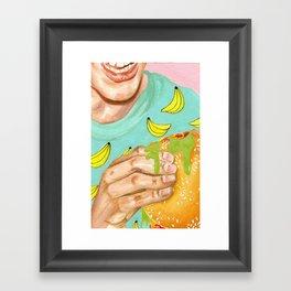 Mystery Meat Framed Art Print