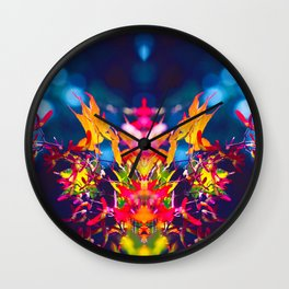Miracle of Leaveart Wall Clock