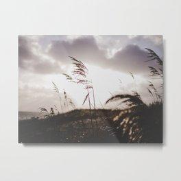Sun set at the beach Metal Print