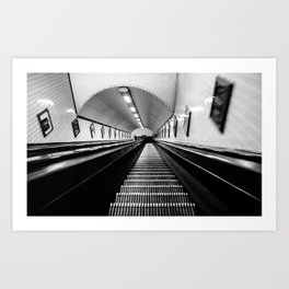 Stairs to Hell Art Print